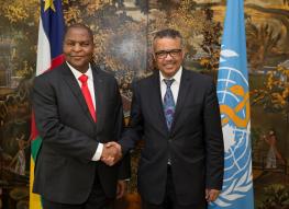 kinshasa, health minister, DRC, WHO, World Health organization
